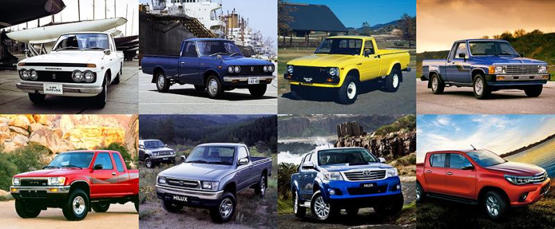 HILUX | le pick up créé par Toyota