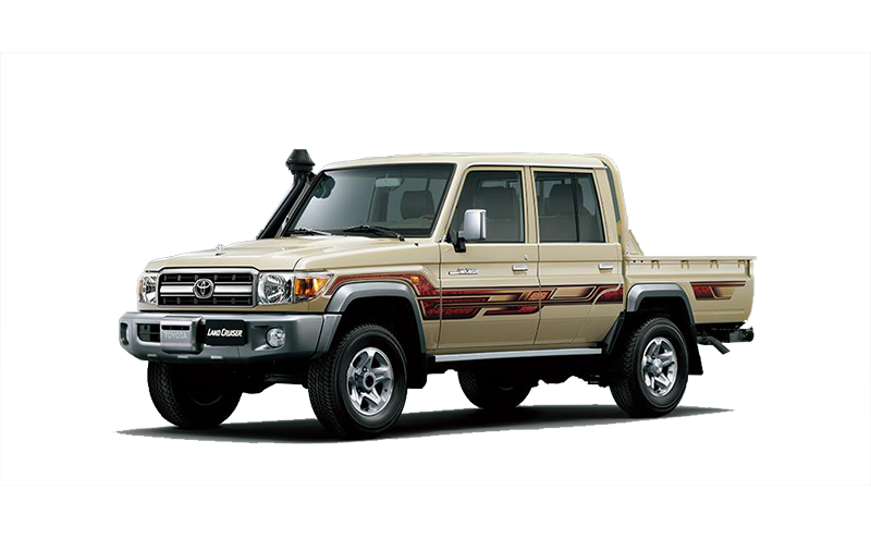 LC79 4.0L Pick-up Double Cab 5-MT 4x4